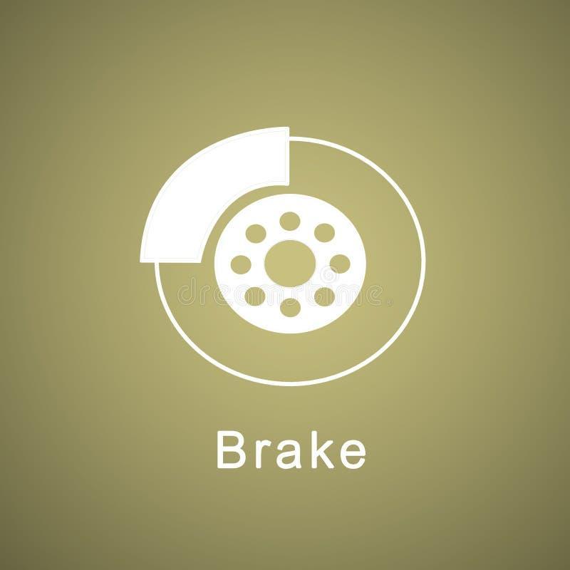 bremse vektor abbildung