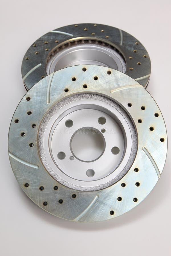 Bremsen-Rotoren lizenzfreie stockfotos