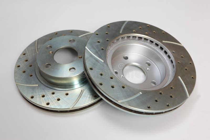 Bremsen-Rotoren stockbild