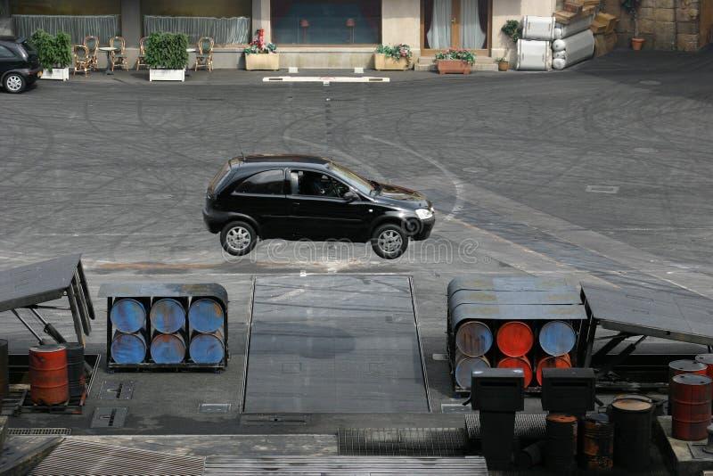 Bremsungserscheinen Lizenzfreies Stockfoto