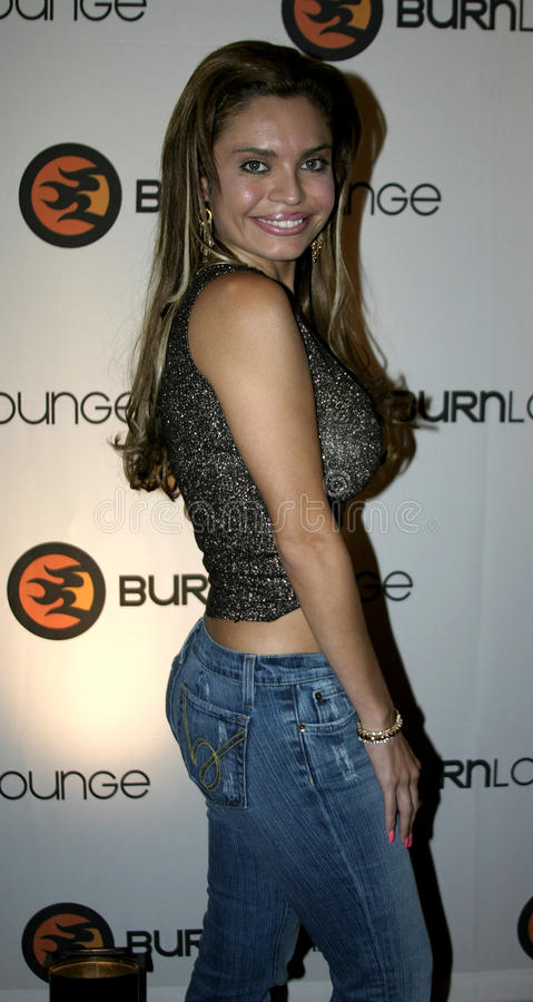 Brenda Lynn. September 10, 2005. Brenda Lynn at the Burn Lounge Launch Party at the Cabana Club in Hollywood, California United States stock image