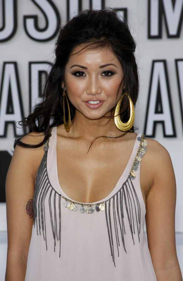 Brenda Song royalty free stock photos