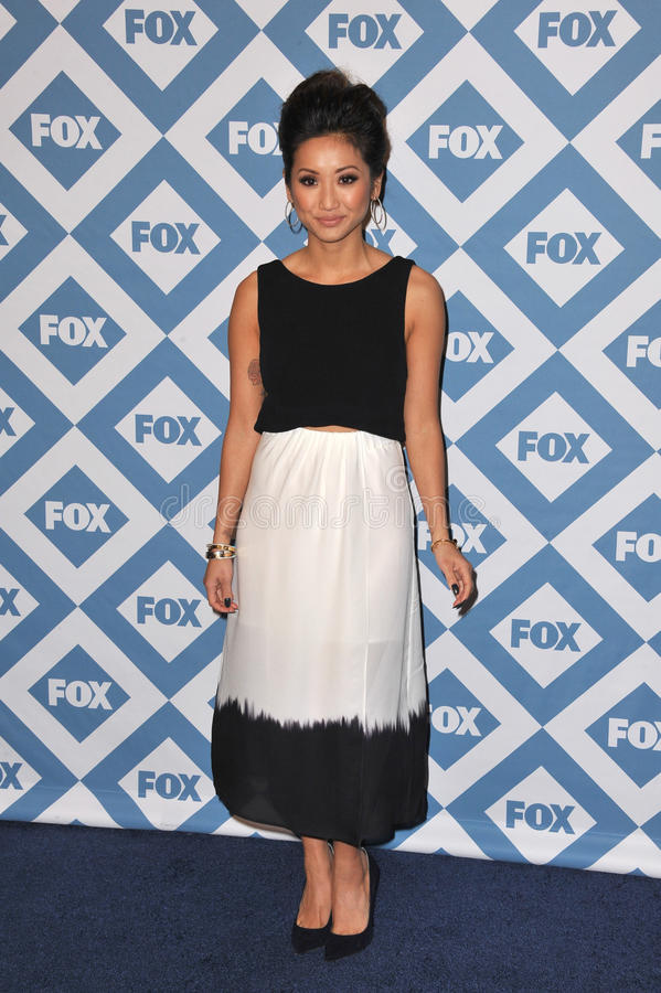 Brenda Song royalty free stock image