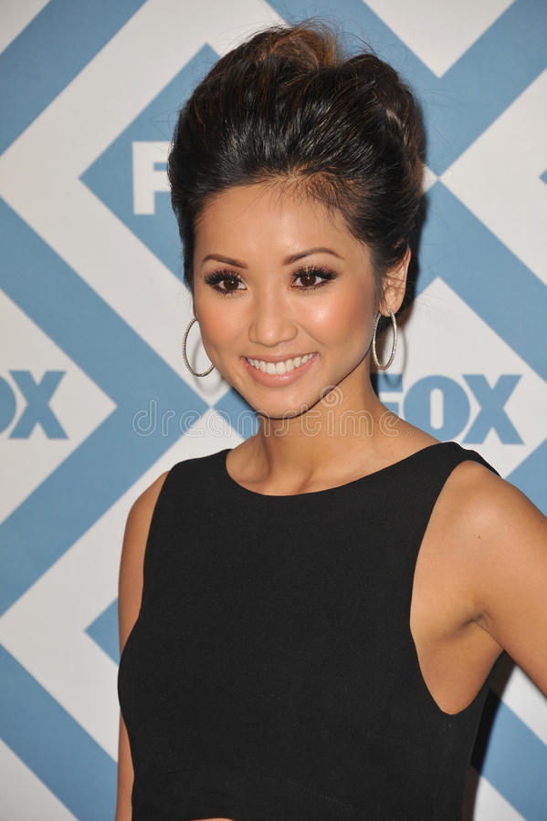 Brenda Song stock images