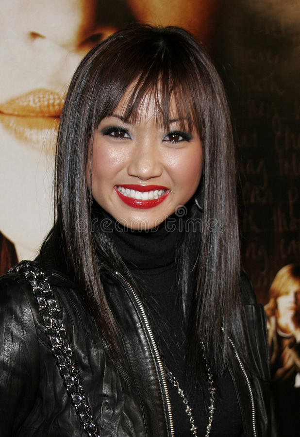 Brenda Song stock photo