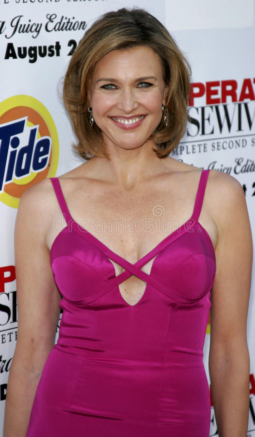 Brenda Strong. At the Desperate Housewives: Extra Juicy Edition Season 2 DVD Launch held at the Wisteria Lane Universal Studios in Hollywood, USA on August 5 stock photography