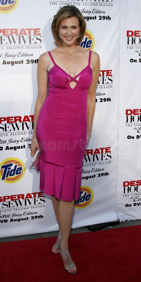 Brenda Strong. At the Desperate Housewives: Extra Juicy Edition Season 2 DVD Launch held at the Wisteria Lane Universal Studios in Hollywood, USA on August 5 stock photo