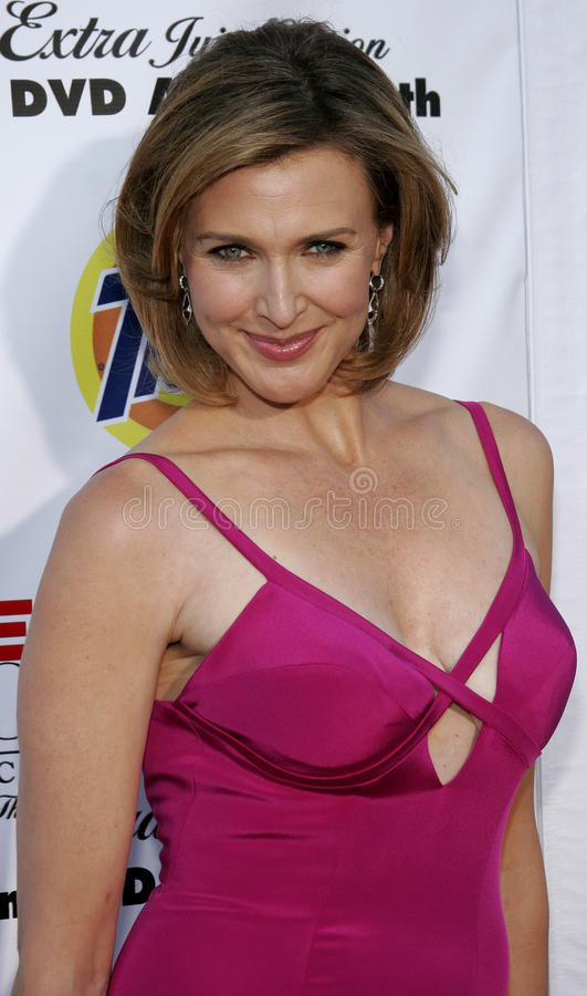 Brenda Strong. At the Desperate Housewives: Extra Juicy Edition Season 2 DVD Launch held at the Wisteria Lane Universal Studios in Hollywood, USA on August 5 royalty free stock photo