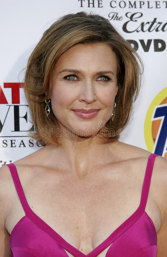 Brenda Strong. At the Desperate Housewives: Extra Juicy Edition Season 2 DVD Launch held at the Wisteria Lane Universal Studios in Hollywood, USA on August 5 royalty free stock photography