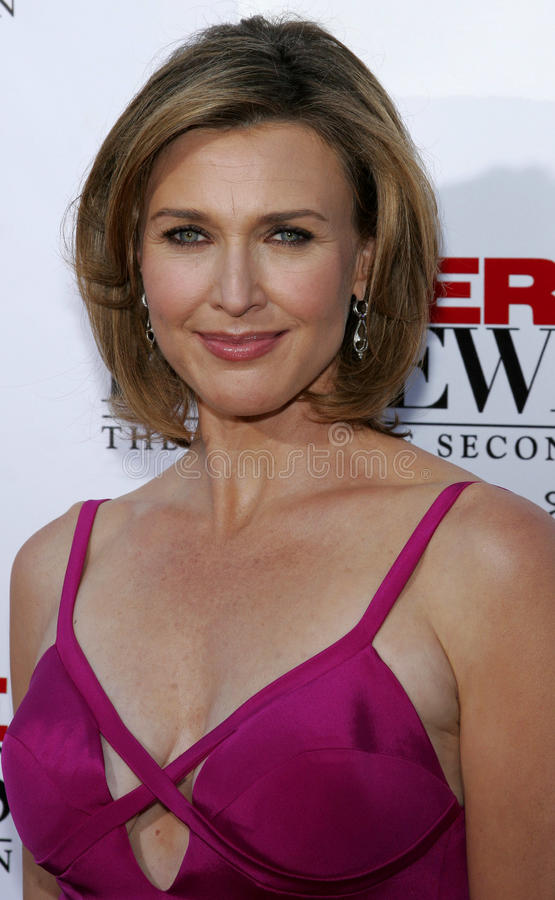 Brenda Strong. At the Desperate Housewives: Extra Juicy Edition Season 2 DVD Launch held at the Wisteria Lane Universal Studios in Hollywood, USA on August 5 stock image