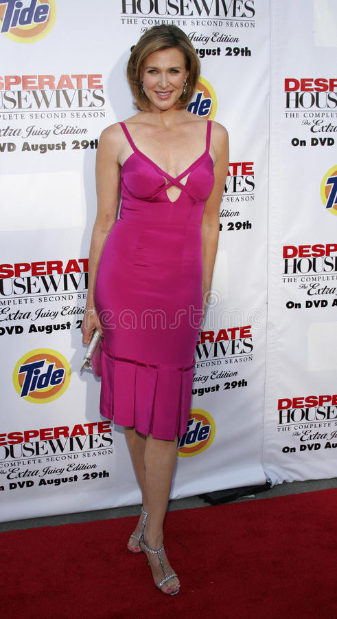 Brenda Strong. At the Desperate Housewives: Extra Juicy Edition Season 2 DVD Launch held at the Wisteria Lane Universal Studios in Hollywood, USA on August 5 stock images