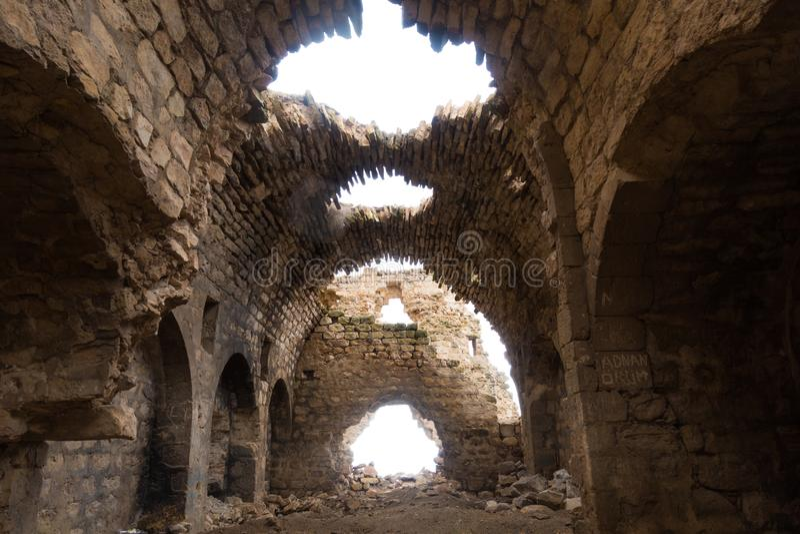 Breng binnen Ahron in de war royalty-vrije stock foto