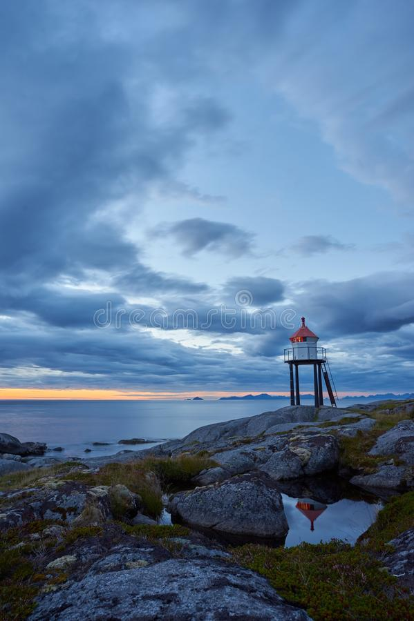 brenna de Noruega imagem de stock