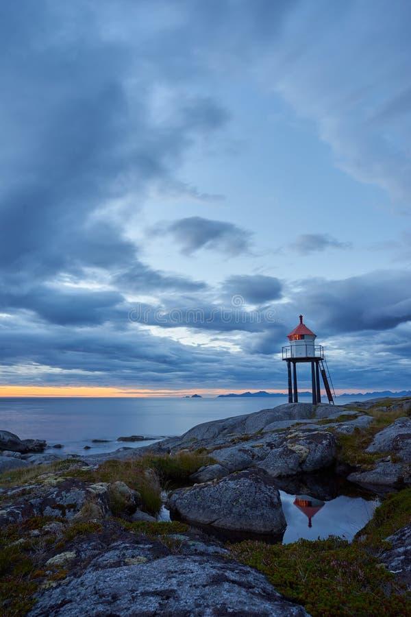brenna della Norvegia immagine stock