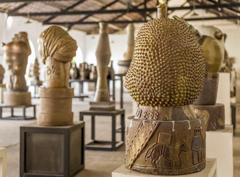 Brennandmuseum royalty-vrije stock foto