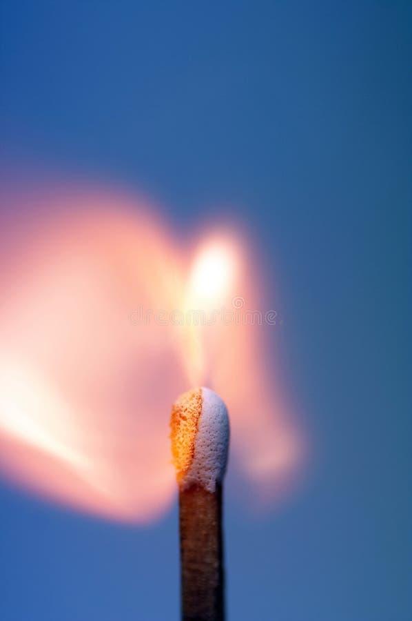 Brennende Abgleichung stockfotos