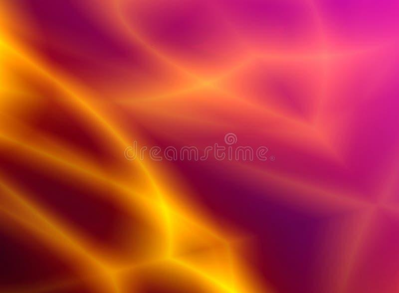 Brennender Hintergrund der Abstraktion stock abbildung