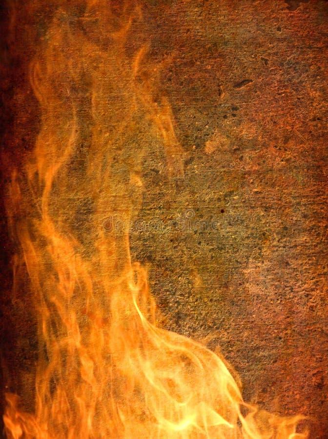 Brennender vertikaler Hintergrund lizenzfreie stockfotos