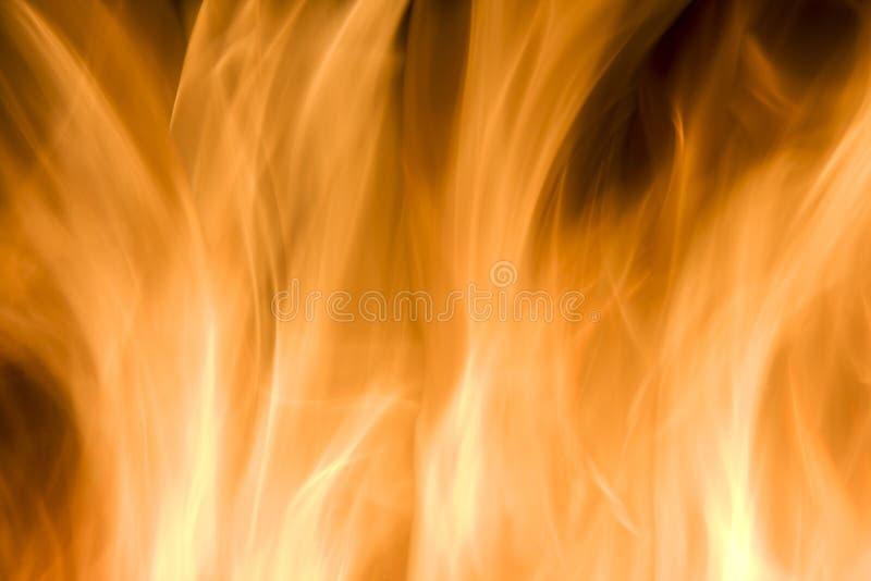 Brennendes Feuer stockfoto