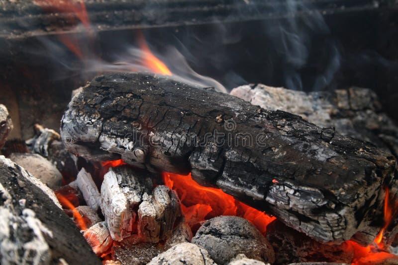 Brennendes Protokoll lizenzfreie stockbilder