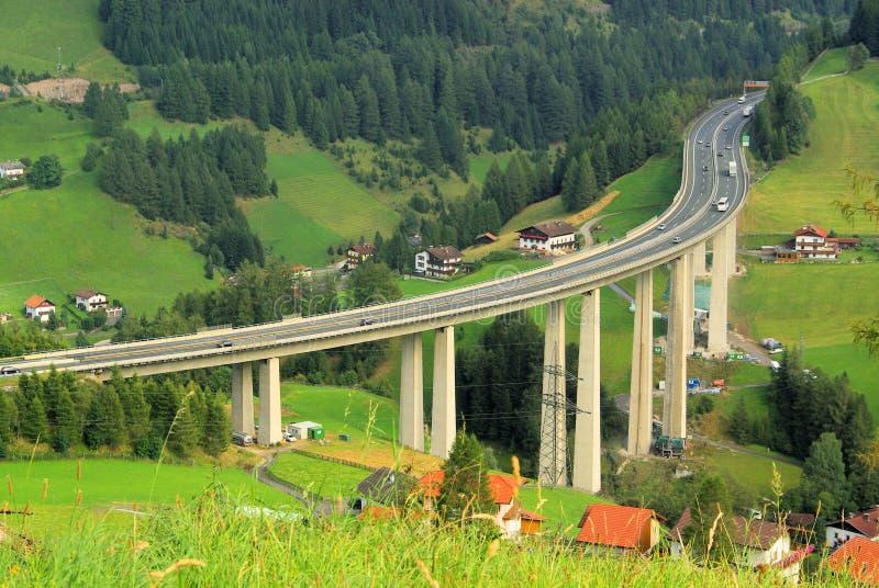 Brennerautobahn fotos de archivo libres de regalías