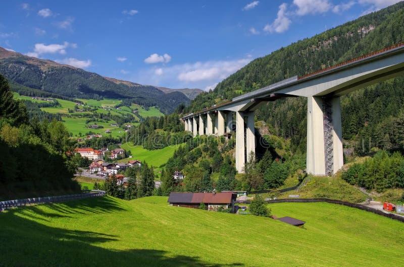 Brennerautobahn стоковые фотографии rf