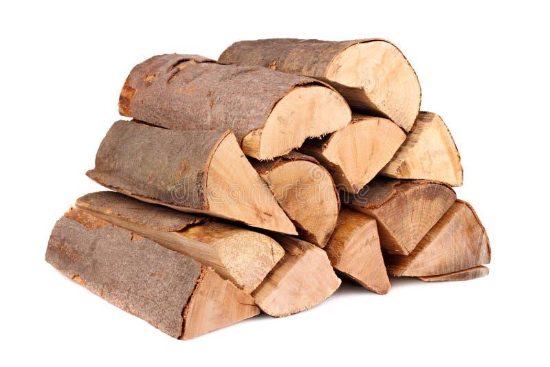 Brennholz 1 stockbild