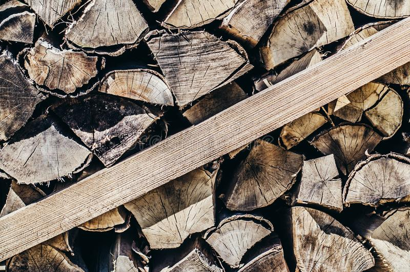 Brennholz-Hintergrund-jährliche Zone lizenzfreie stockbilder