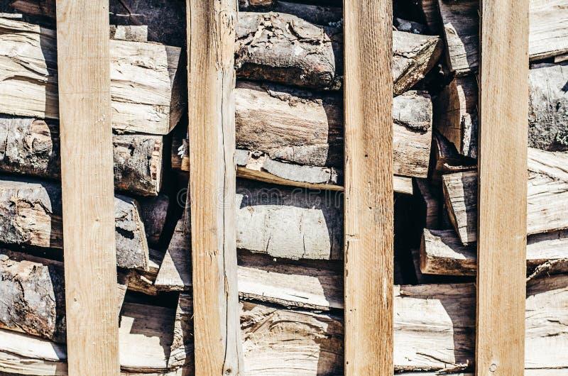 Brennholz-Hintergrund-jährliche Zone lizenzfreies stockbild