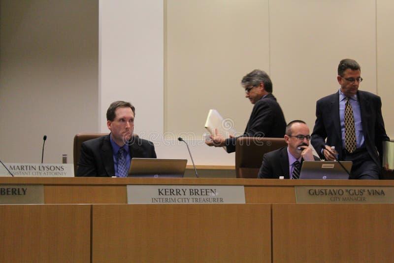 Brentwood-Stadtrat verbietet die medizinische Marihuana-Bearbeitung AB266, die einstimmig geführt wird stockfotografie