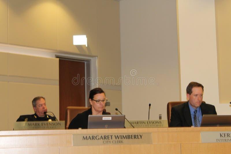 Brentwood-Stadtrat verbietet medizinische Marihuana-Bearbeitung AB266 stockfotos