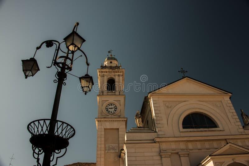The famous Church of Brescello, Italy royalty free stock photos