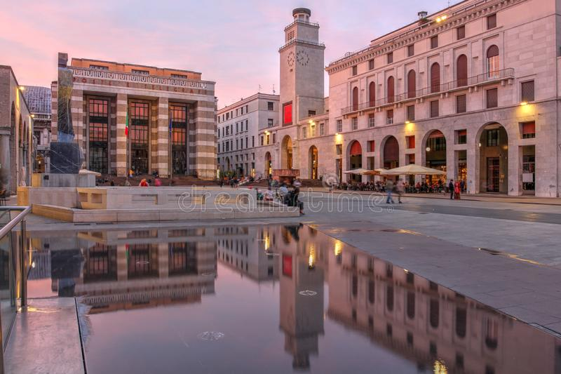 Brescia, Ιταλία στοκ φωτογραφία με δικαίωμα ελεύθερης χρήσης