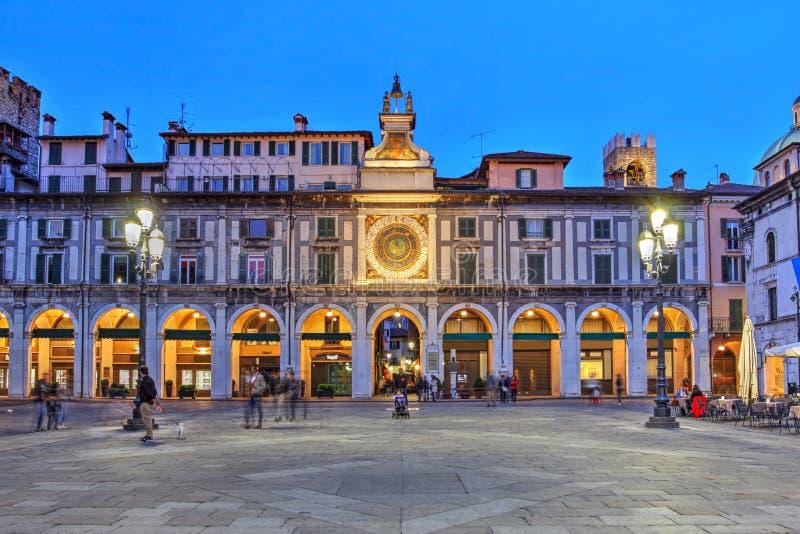 Brescia, Italia fotografie stock libere da diritti
