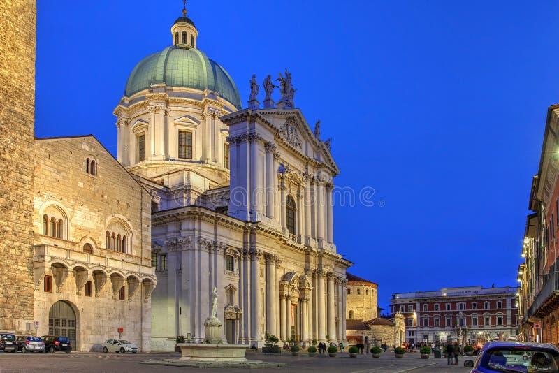 Brescia, Italien lizenzfreie stockfotos