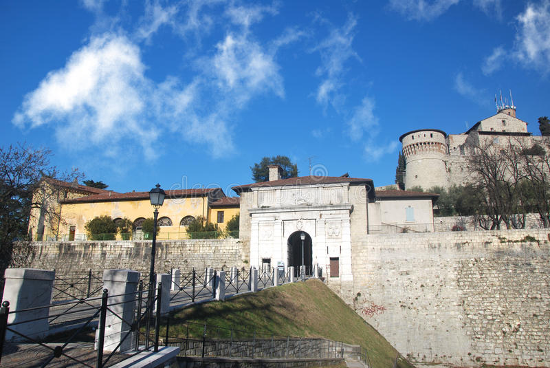 Download Brescia medieval castle stock photo. Image of building - 24801196