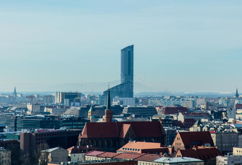 BRESLAU, POLEN - 4. MÄRZ 2017: Foto der herrlicher Aussicht von bea stockbilder