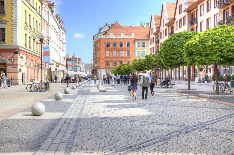 Breslau, Stadtbild stockfotos