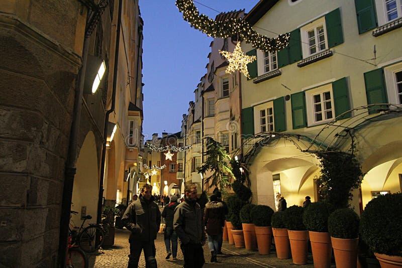 Bressanone рождества стоковая фотография