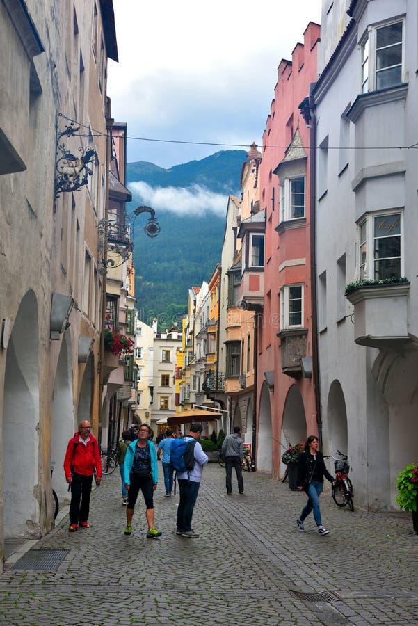 Bressanone Italia imagen de archivo libre de regalías