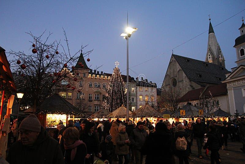 Bressanonemarkt stock fotografie