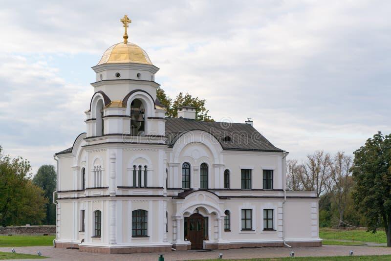 Brest, Belarus Garrison Cathedral St Nicholas Church dans la forteresse complexe commémorative de héros de Brest image stock