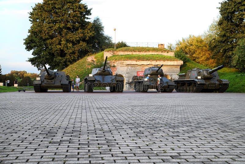 BREST, BELARUS - 13 septembre 2018 : Forteresse-héros complexe commémoratif de Brest photos stock