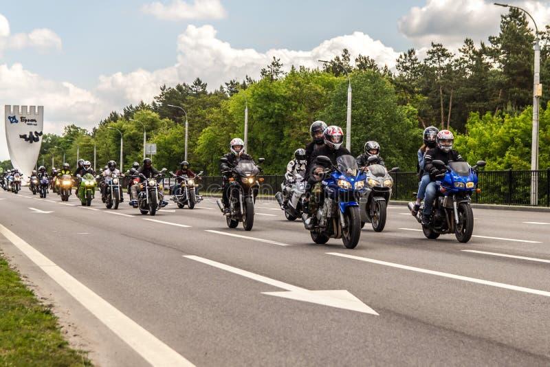 Brest Bike Festival International 2019 stock images