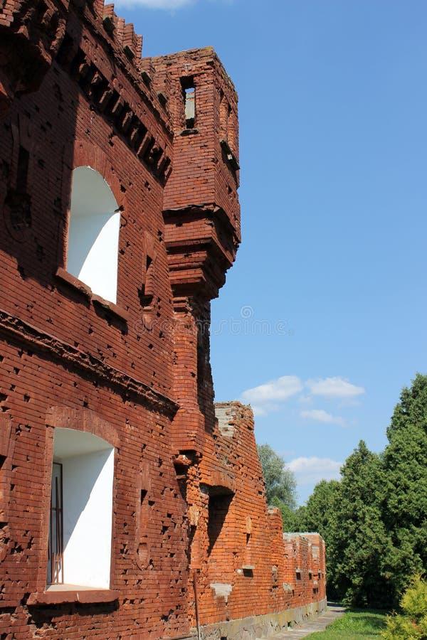 Brest-Festung, Belarus lizenzfreie stockfotos