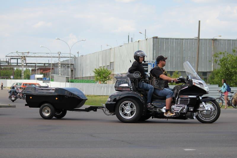 Brest roweru festiwalu zawody mi?dzynarodowi 2012 obraz royalty free
