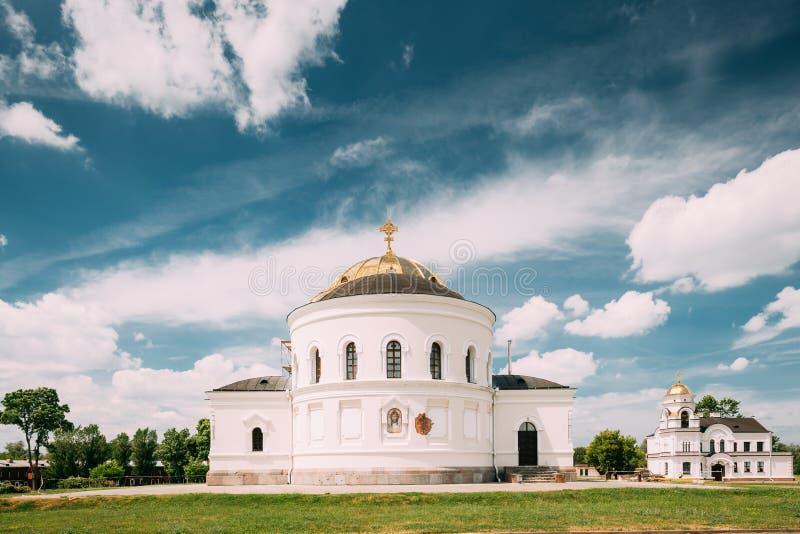 Brest Vitryssland Garrison Cathedral St Nicholas Church i minnes- komplex Brest hjältefästning arkivfoton