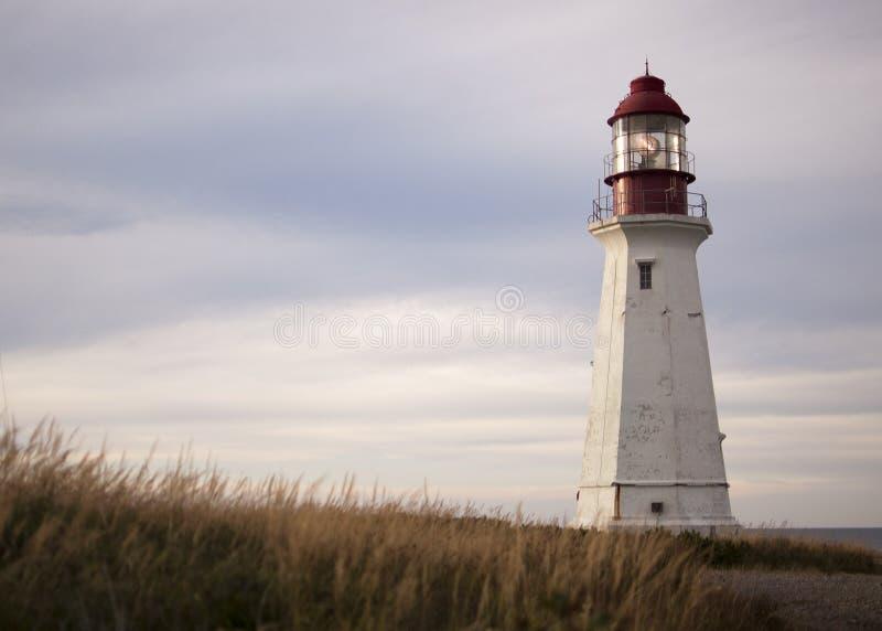Bretão Nova Scotia do cabo do farol imagens de stock royalty free