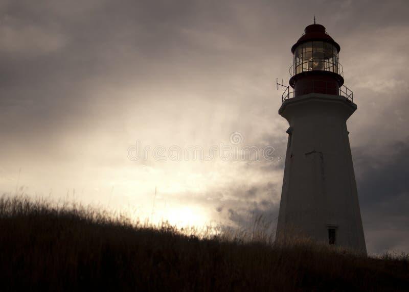 Bretão Nova Scotia do cabo do farol imagem de stock