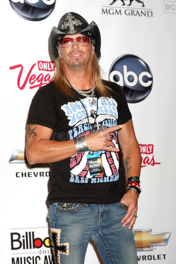 bret michaels 库存照片